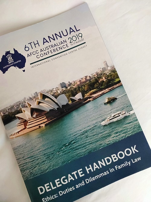 Parenting Coordination in Australia - AFCC Conference